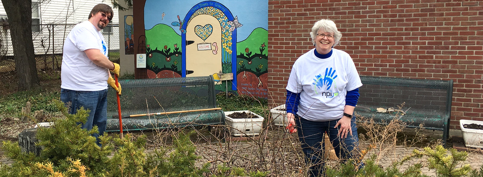 NPI encourages volunteer